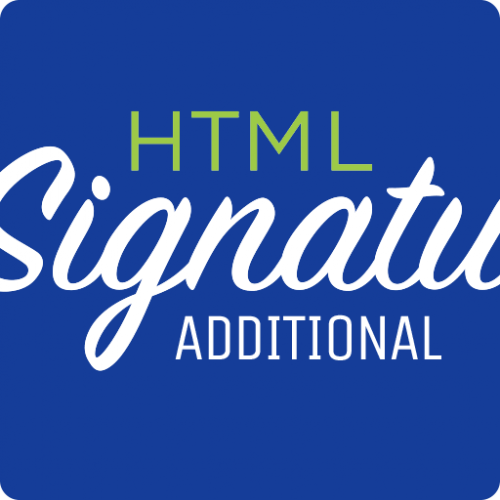 Package: Additional Signature