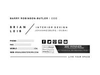 Custom Layout: Brian Leib Interiors