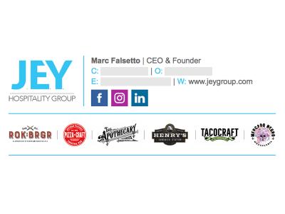 Custom Layout: Jey Hospitality Group