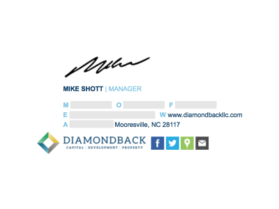 Image on the Bottom: Diamond Back LLC.