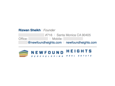 Image on the Bottom: Newfound Heights