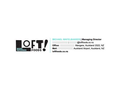 Image on the Left: Loft Foods