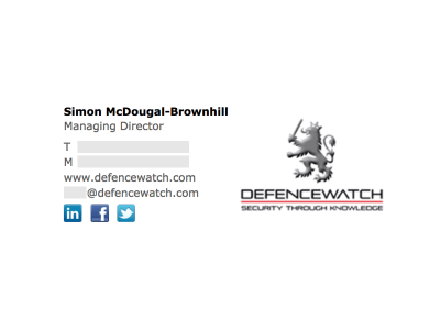 Image on the Right: Defence Watch
