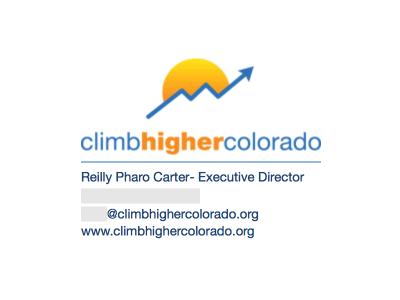 Image On Top: Climb Higher Colorado