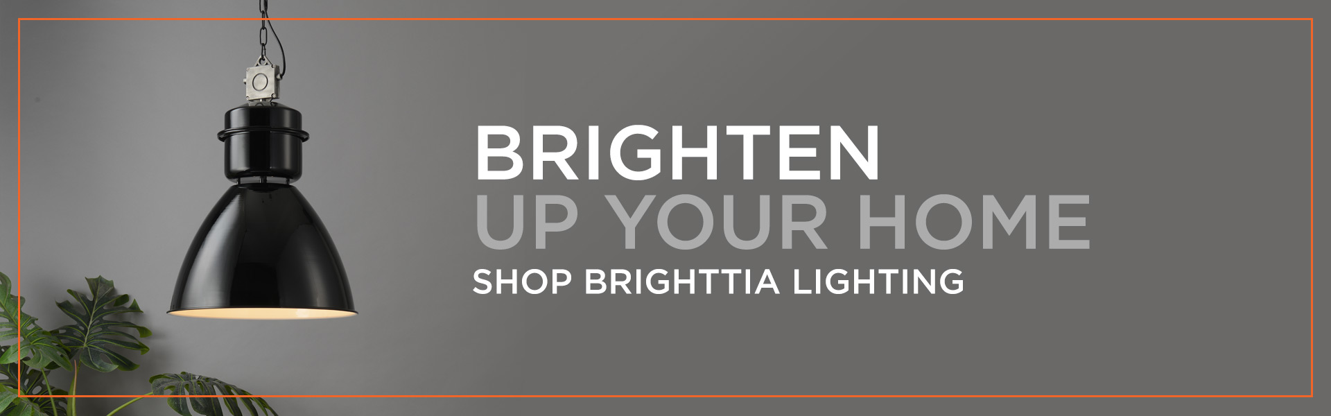 Brighttia Lighting Industrial Pendant Banner Ad